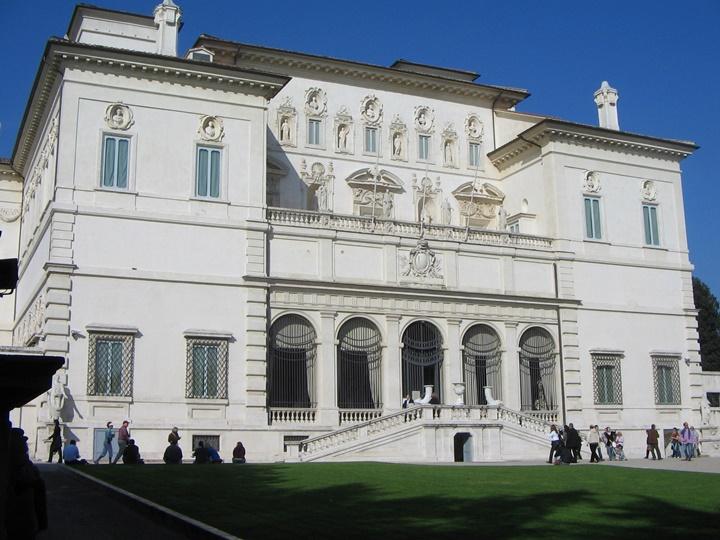 Galeria borghese roma - romada gezilecek saraylar