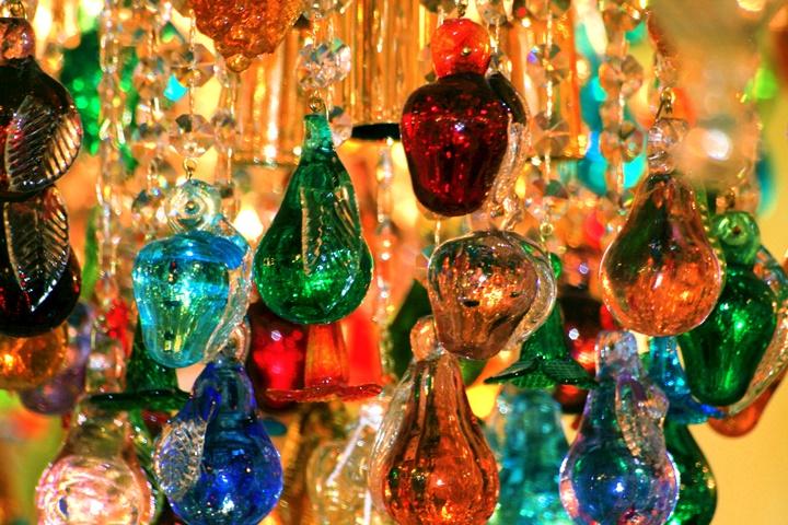 Murano camları - romada alışveriş