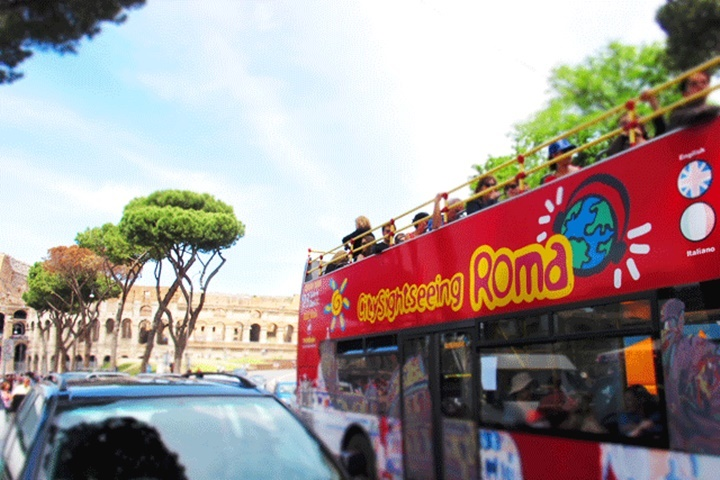 Roma City Sightseeing otobüsleri - romada yapılacak şeyler