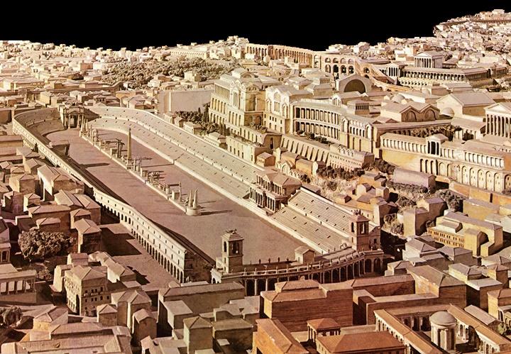 Roma rehberi - Circus Maximus stadyumu