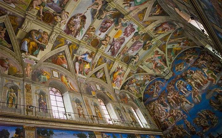 Sistine Şapeli Kilisesi - vatikan müzeleri