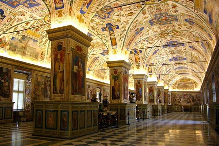 Sistine Şapeli kilisesi - roma rehberi