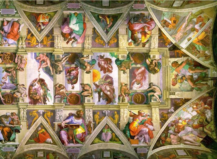 Sistine chapel roma vatikan - romada gezilebilecek bazilikalar