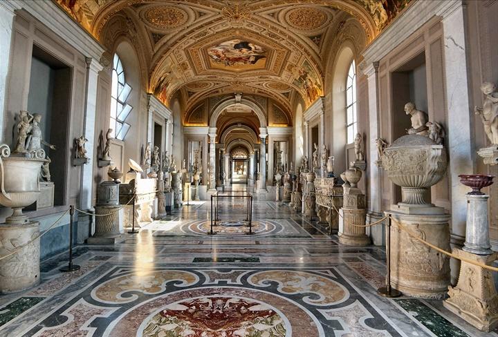 Vatikan müzeleri - vatikanda gezilecek önemli yapılar