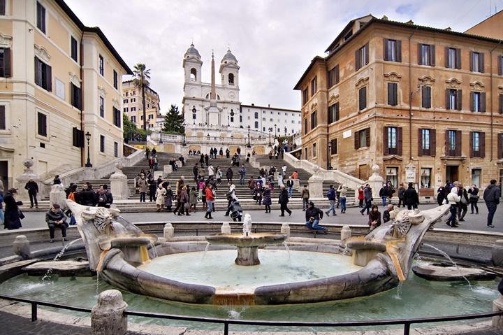 ispanyol merdivenleri - Romada gezilecek yerler