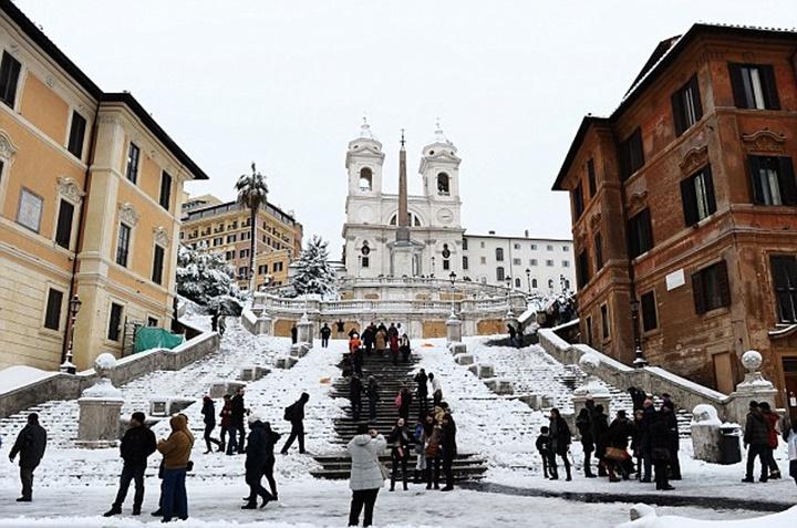 romada kış mevsimi - romanın iklimi
