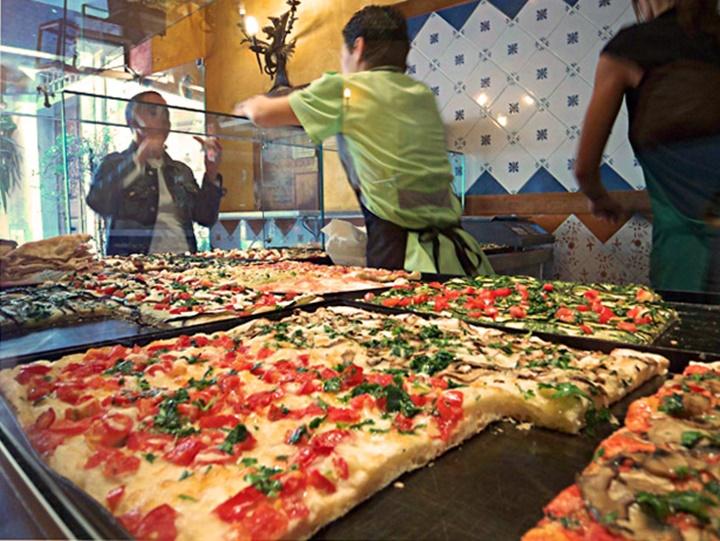 romada kilo ile pizza - romada yeme içme