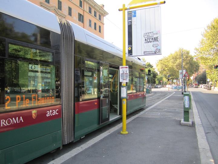 romada tramvay ve metro ile ulaşım - romada ulaşım