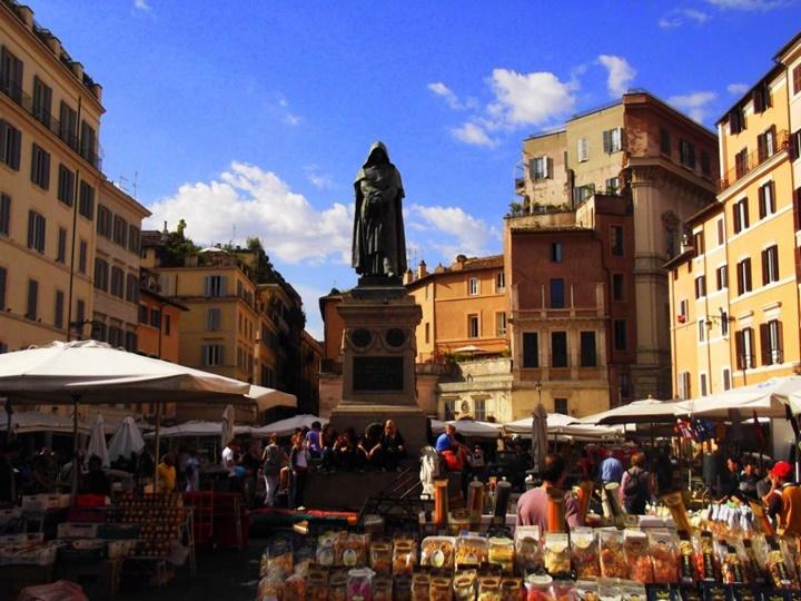 romada yer alan meydanlar