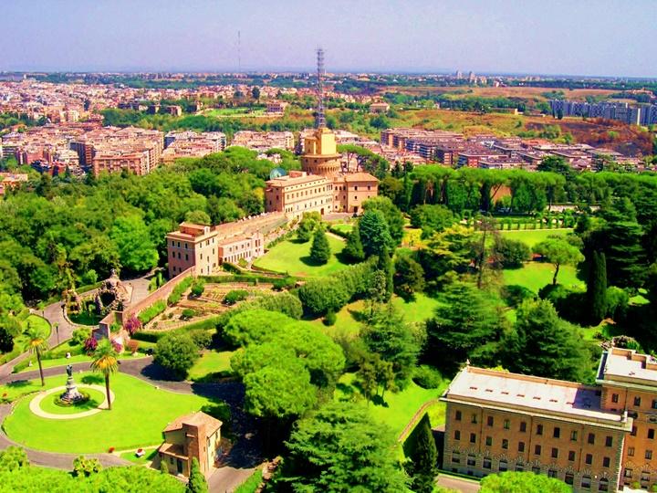 vatikan bahçeleri - vatikanda gezilebilecek önemli bazilikalar