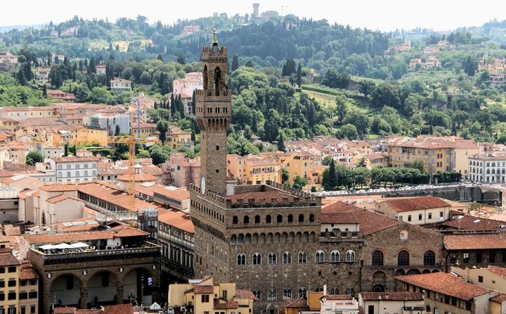 Floransa Bargello palace sarayı