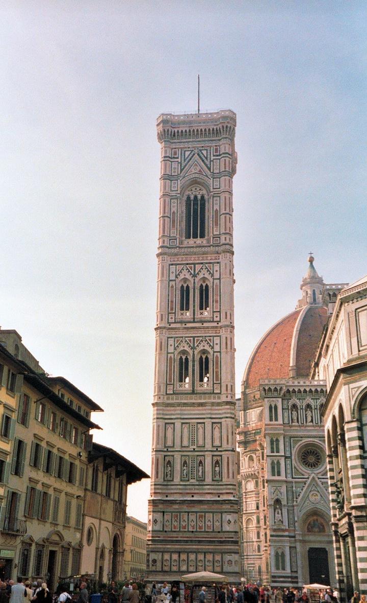 Floransa Giotto Campanile Çan Kulesi - floransa gezi rehberi