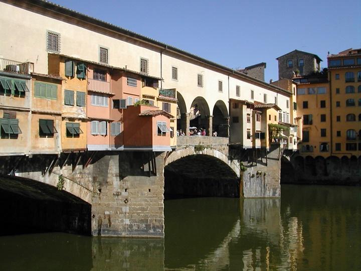 Floransa Ponte vecchio köprüsü - floransada gezilecek yerler