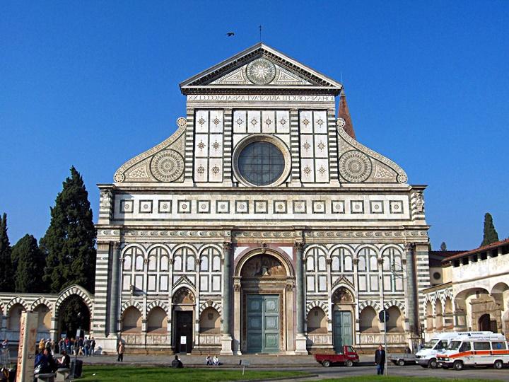 Floransa Santa maria Novella bazilikası - floransa rehberi
