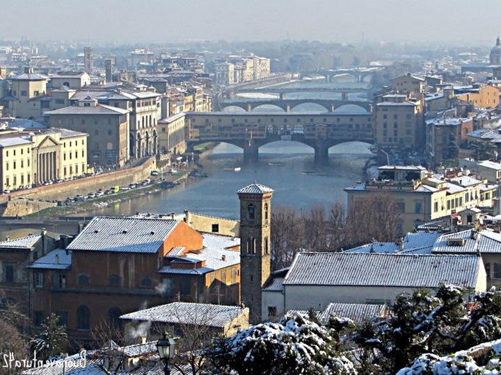 Floransada gezilecek yerler - Floransa Michelangelo Meydanı
