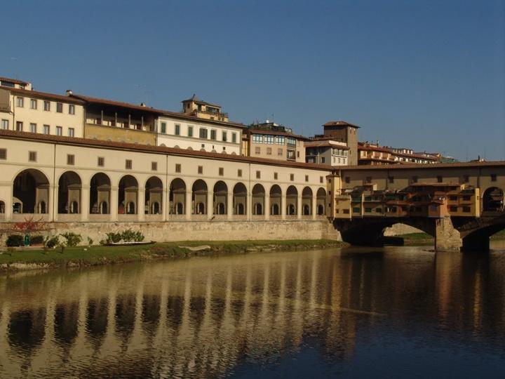 Floransada gezip görülecek yerler - Floransa Vasari Corridor
