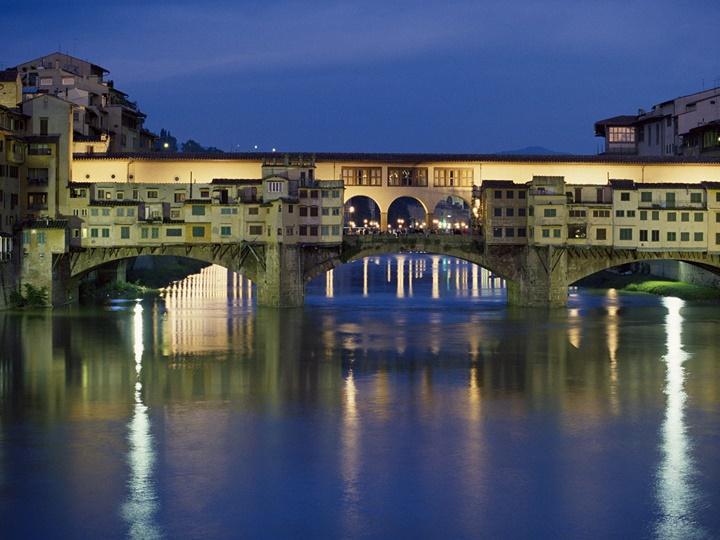 Floransanın ilginç mekanları - Floransa Ponte Vecchio Köprüsünün hikayesi