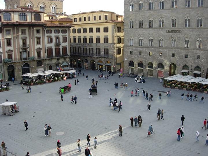 Piazza della Signoria meydanı - floransanın meydanları