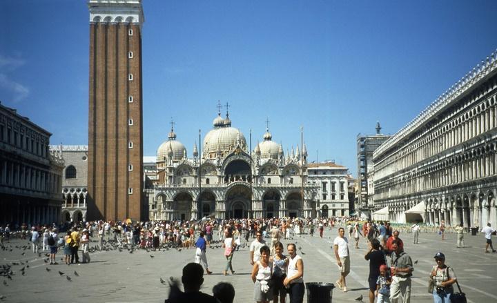 San Marco meydanı - venedikte gezilecek yerler