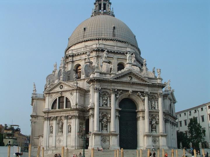 Santa Maria della salute bazilikası venedik - venedikte gezilecek kiliseler