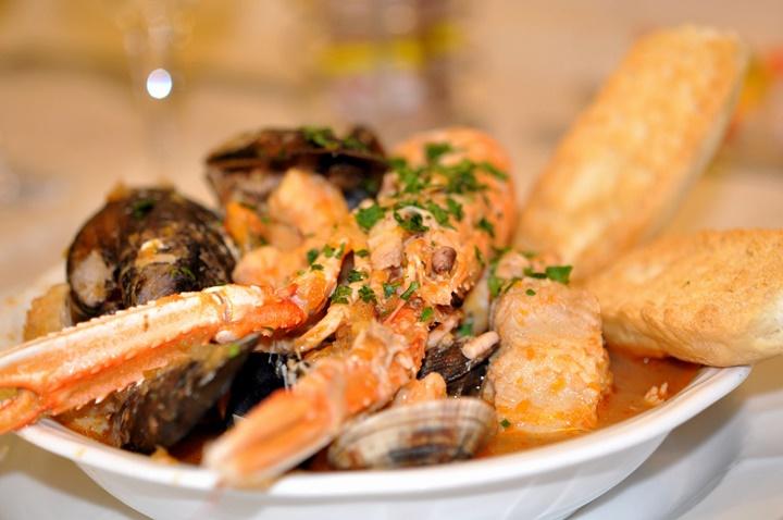 Scampi alla veneziana - venedikte nerede yemek yenilir