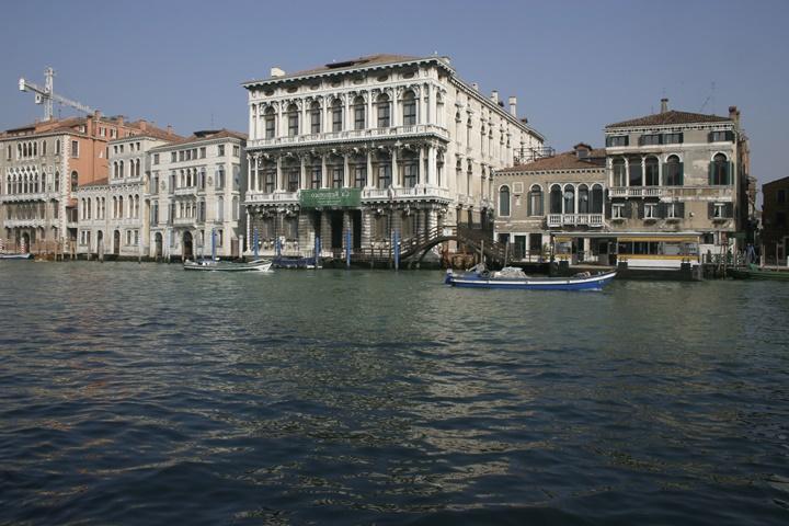 Venedik Ca 'Rezzonico sarayı - venedikte yer alan önemi saraylar