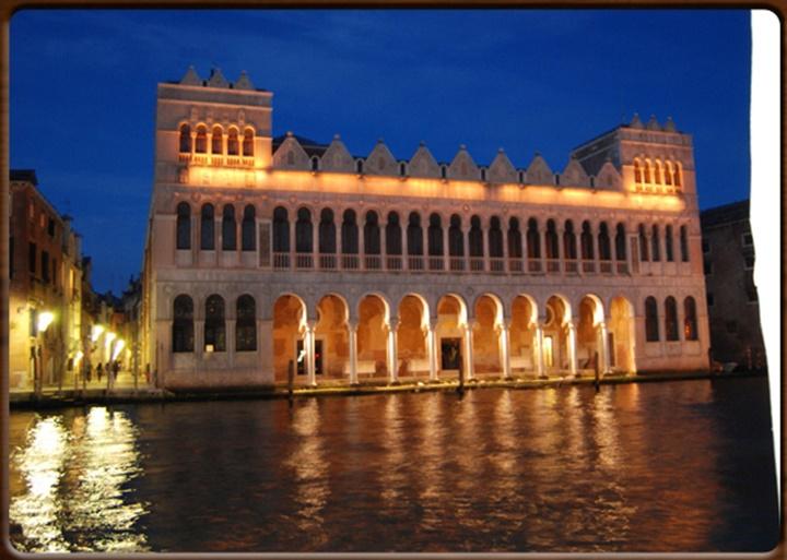 Venedik Fondaco dei turchi - venedik türk sarayı