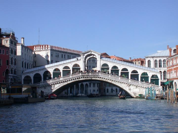 Venedik Rialto köprüsü - vendiğin gezilecek köprüleri