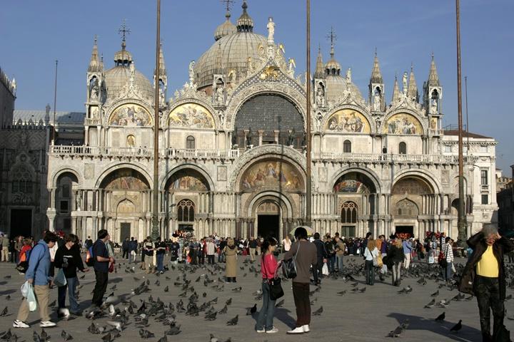 Venedik San marco basilikası - venedikte gezilecek yerler