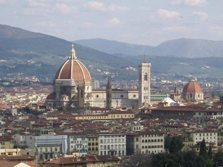 floransa Piazzale Michelangelo meydanı