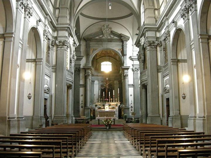 floransa Santa felicita kilisesi - floransada gezilecek kiliseler