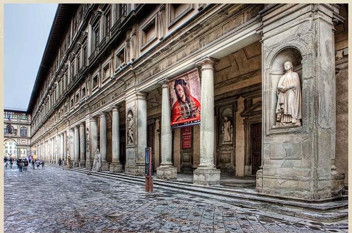 floransanın gezilecek en güzel yerleri - Floransa Uffizi Galerisi