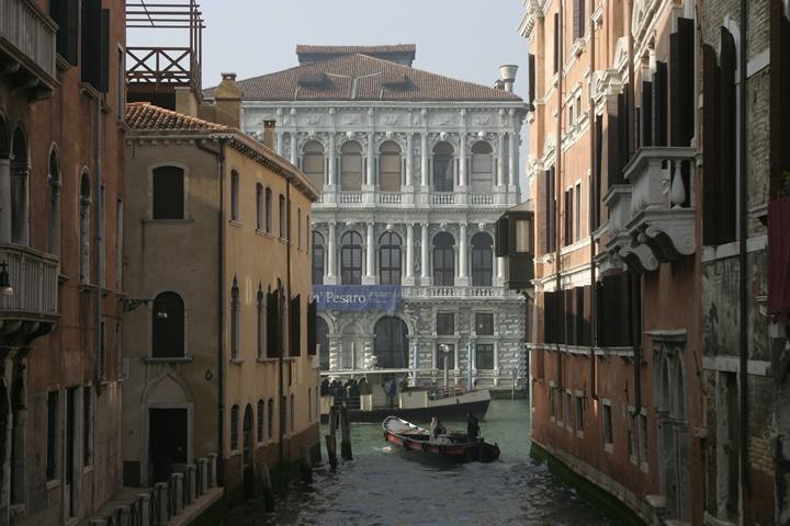 venedik Ca 'Pesaro sarayı - venedik sarayları
