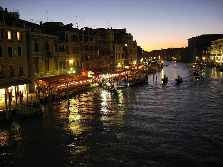 venedik büyük kanal - venedik kanalları