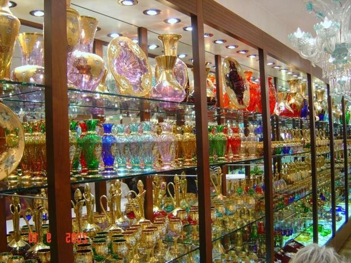 venedik murano işi cam ürünler - venedikte alışveriş