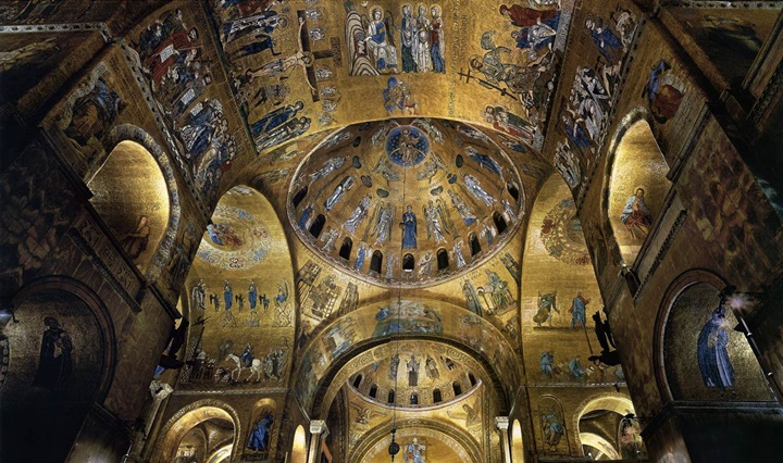 venedik san marco kilisesinin içi