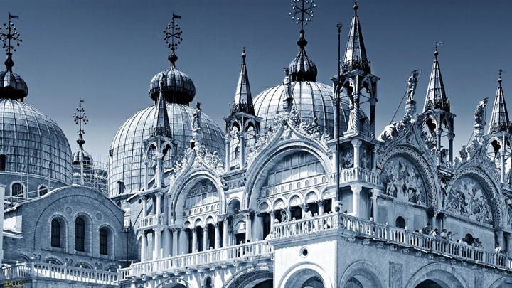 venedikte gezilecek yerler - venedik san marco kilisesi