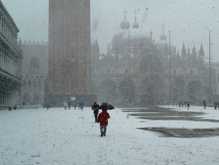 venedikte kış - venedikin en soğuk mevsimi