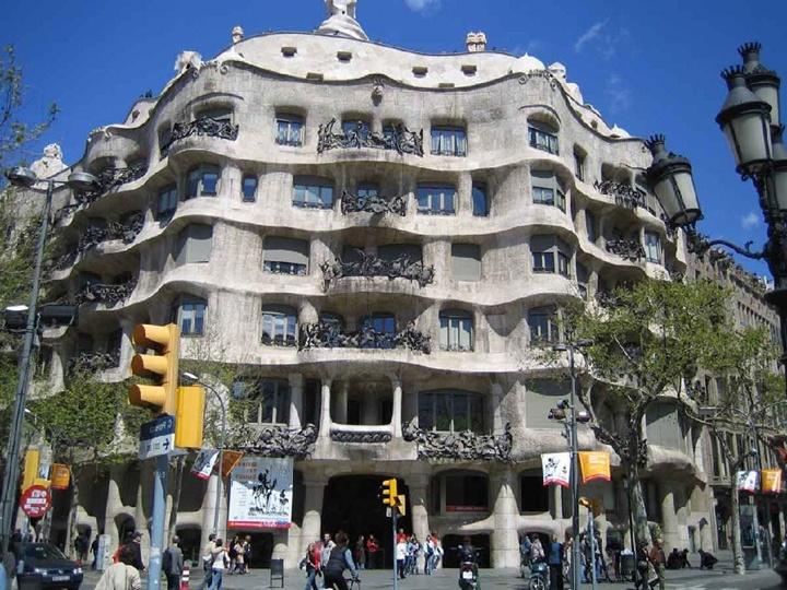 Barcelona Casa Milanın fotoğrafları
