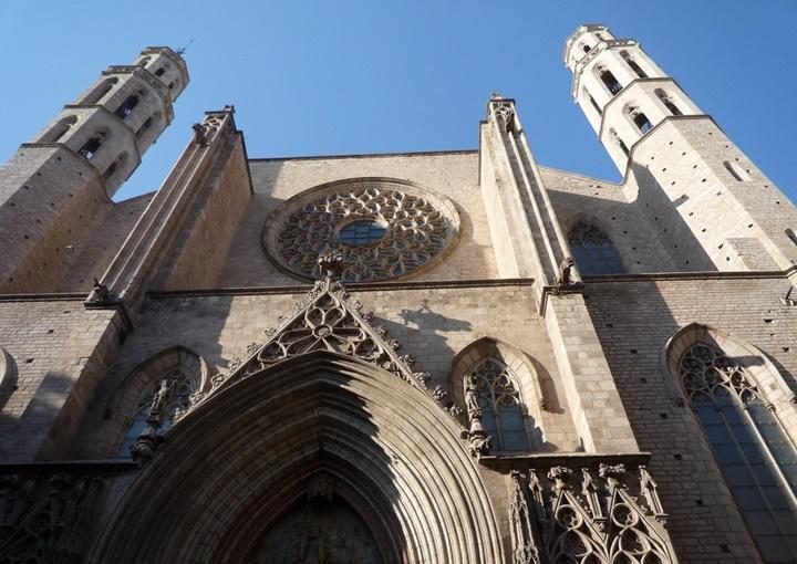 Barcelona Santa Maria Del Mar Kilisesi hakkında detaylı bilgi