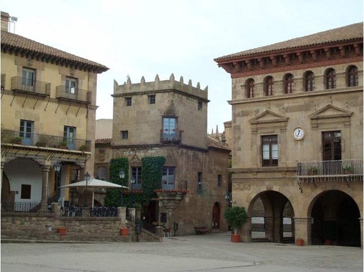 Barcelonada gezilecek yerler - Barcelona Poble Espanyol Müzesi