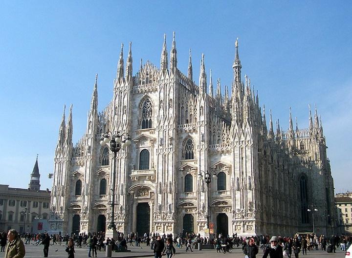 Romada gezilecek yerler - milano Duomo katedrali