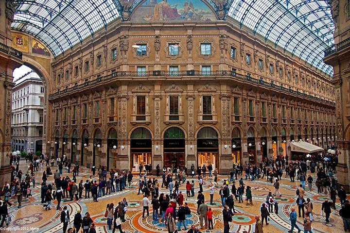 Vittoria Emanuele alışveriş merkezi - Vittoria Emanuele alışveriş merkezi