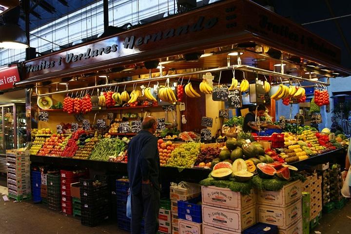 barcelona pazarı