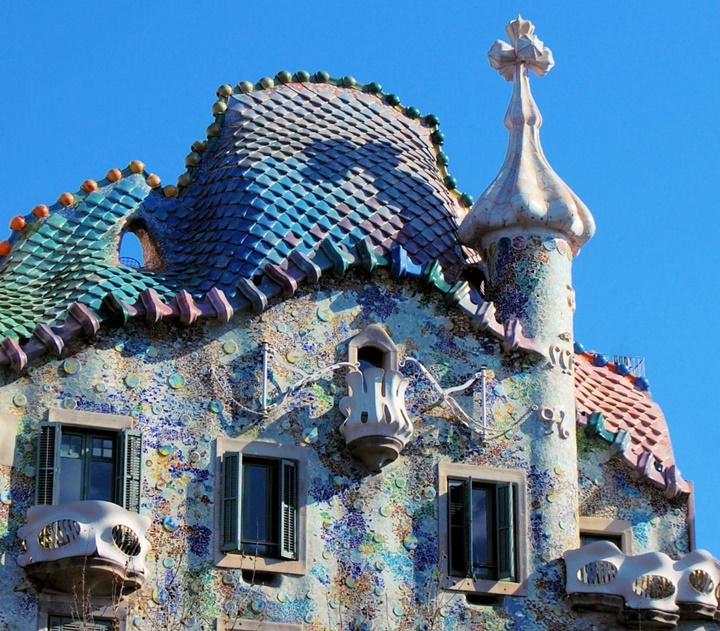 barcelonada gezilecek yerler - Barcelona Casa Batllo