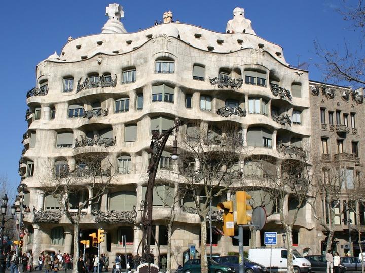 barcelonada gezilecek yerler - Barcelona Casa Mila Hakkında Detaylı Bilgi