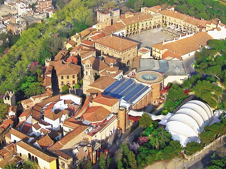 barceolonada gezilecek yerler - Barselona Poble Espanyol müzesi