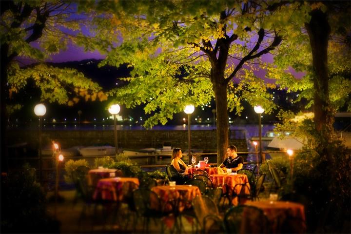 como gölünde yer alan kafe ve restaurantlar