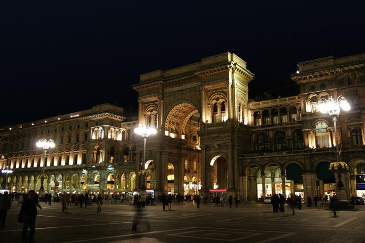milanoda gezilecek yerler - Milano Galleria Vittorio Emanuele Alışveriş Merkezi