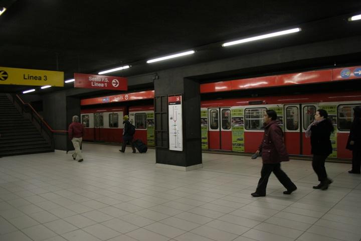 milanoda metro hatları